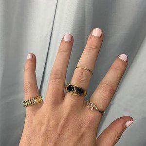 Basic Gold Stacking Ring!
